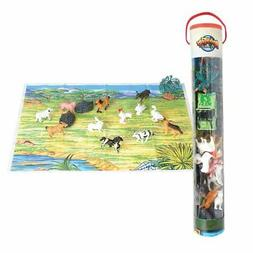 Farm Tube Playset and Playmat