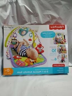 Fisher Price Musical Portable Activity Gym Play-Mat Padded F