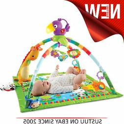 Fisher-Price Rainforest Music & Lights Deluxe Activity Gym/B