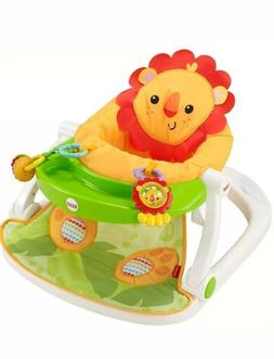 Fisher-Price Sit-Me-Up Floor Seat with Tray Lion Jungle With
