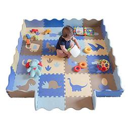little dove Baby Floor Mat Interlocking Play Mats for Infant