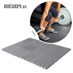 Durable Floor Protection Interlocking Tiles Workout Exercise