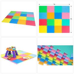 Flooring Puzzle Solid High Quality Foam Play Mat Tiles Edges