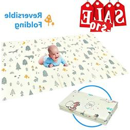Folding Play Mat | BPA-Free Non Toxic Foam Baby Care Playmat