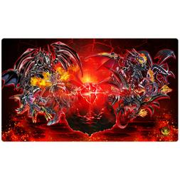FREE SHIPPING Yugioh Playmat Play Mat Black Stone of Legend
