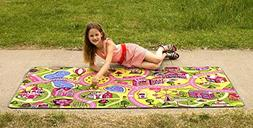 "Learning Carpets At the Fun Fair Play Carpet Toy, 36""x79"""