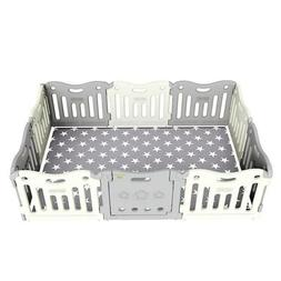 BABY CARE  Funzone Baby Playpen in Grey