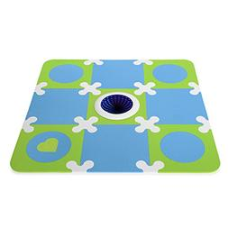 Munchkin Galaxy Light Up Foam Playmat, Blue/Green