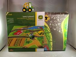 """Oball Go Grippers John Deere Country Lanes 47"""" Playmat & Pus"""