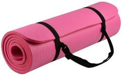 BalanceFrom GoYoga Thick Anti-Tear Yoga Mat, Gym Outdoor Fit