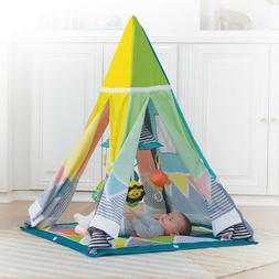 grow with me playtime teepee play mat
