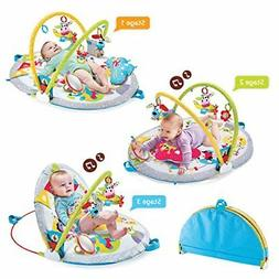 gymotion lay to sit up play mat