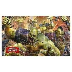 Hero Realms Card Game: Rampage Play Mat by White Wizard Game