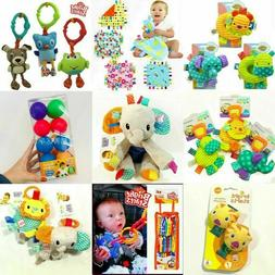 Infant Baby Child Taggies Bright Starts Soft Rattle Attachab