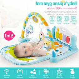 Infant Toddler Baby Play Activity Gym Playmat Floor Mat Kids