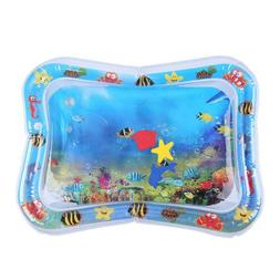 Inflatable Baby Kids Water Play Mat Children Infants Tummy T