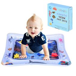 Inflatable Baby Water Mat Fun Activity Play Center Pad For C