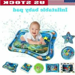 Inflatable Baby Water Mat Fun Activity Play Center Tummy Tim