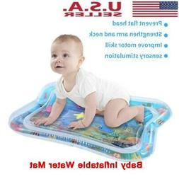 Inflatable Baby Water Mat Fun Activity Play Center Cushion F