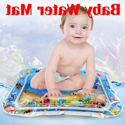 Inflatable Baby Water Mat Play Pad Gyms for Kids Children In