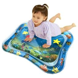 Inflatable Baby Water Mat Play Pad Gyms Mats for Kids Childr