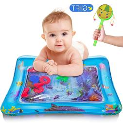 Inflatable Baby Water Play Mat and Infants Tummy Time for Ch