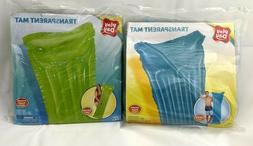 Play Day Inflatable Transparent Air Mat -Green 5ft 6in- Wate