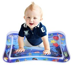 Inflatable Tummy Time Water Play Mat Leakproof Water Filled