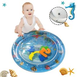 Inflatable Water Play Mat Infants Toddlers Baby Fun Tummy Ti