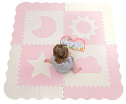 Interlocking Foam Baby Play Mat Tiles - Large Non-Toxic Puzz