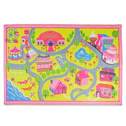 Playmat Play Rug Educational Area Rug for Kids, Babt, Toddle