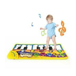 Kids Baby Boy Girl Musical Piano Play Mat Development Educat