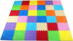 BalanceFrom Kid's Puzzle Exercise Play Mat with EVA Foam Til