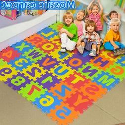 Kids Baby Boys Girls Foam Floor Puzzle Play Mat Pad Crawling