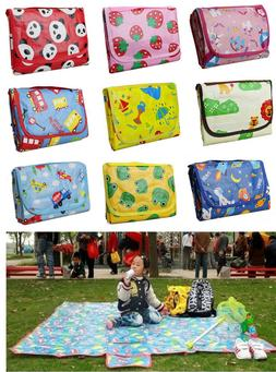 Baby Play Mat Gym Activity Blanket Toy Game Carpet Floor Tra