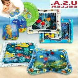 Kids Baby Inflatable Water Play Mat Toddler Fun Tummy Time P