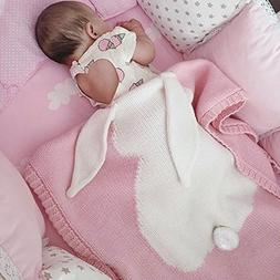 Kids Blankets,SUNBABY Cute Rabbit Crochet Newborn Blanket Ba
