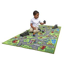 Kids Carpet Play mat City Life Extra Large Multi Color Activ