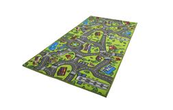 Kids Carpet Playmat Rug City Life Great for Playing with Car