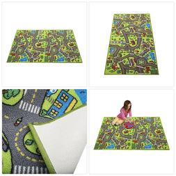 Kids Carpet Rug Great for Playing with Cars and Toys Extra L