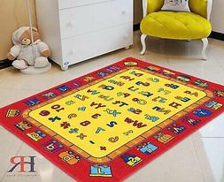 Kids Rugs Letters Numbers math symbols Kids Educational play