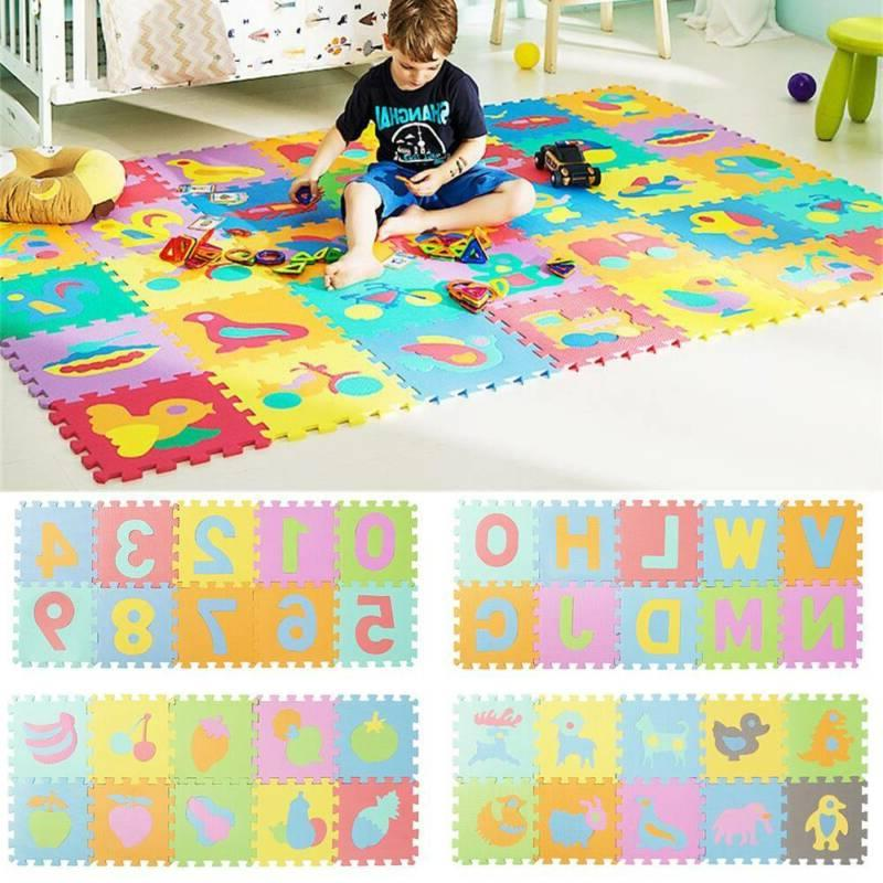 10 EVA Play Alphabet Puzzle Toy Tile