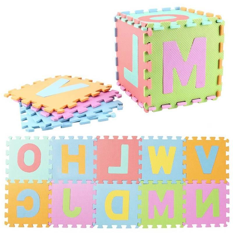 10 EVA Foam Alphabet DIY Toy Floor Game