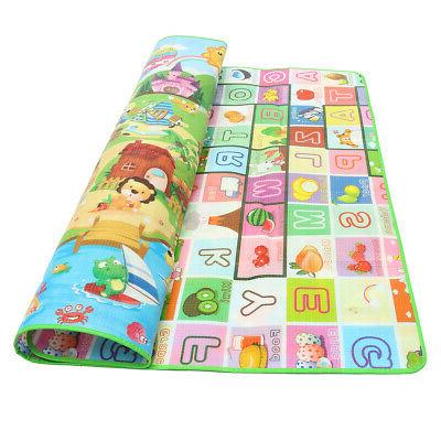 2Mx1.8M Mat Rug Child Kids Crawling Game Two
