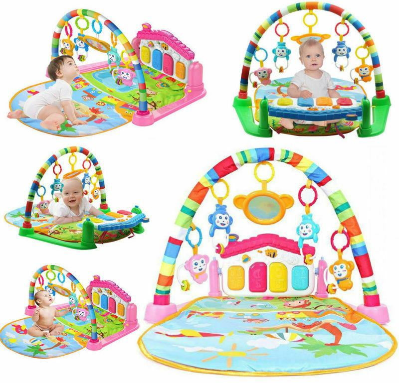 3 in 1 baby light musical gym