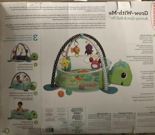 Infantino 3-in-1 Grow with Ball 0 Sea Ball