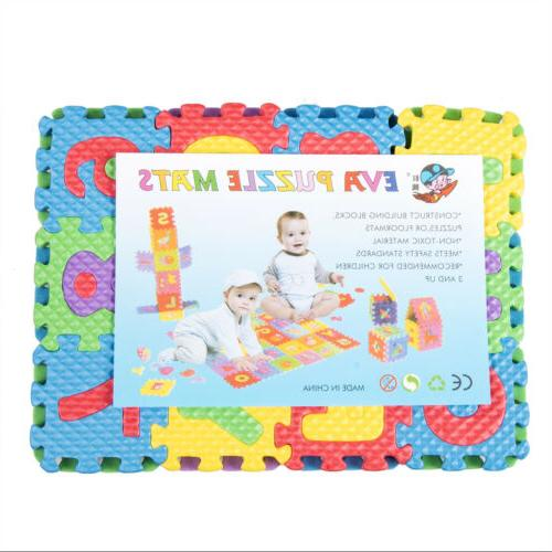 36pc Numbers Floor Play Mat Room US
