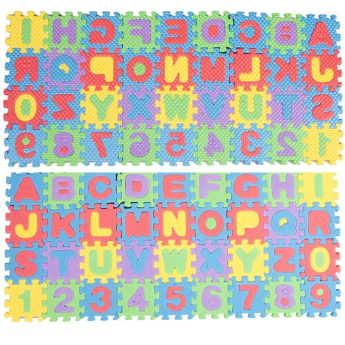 36pc Alphabet Floor Room ABC US