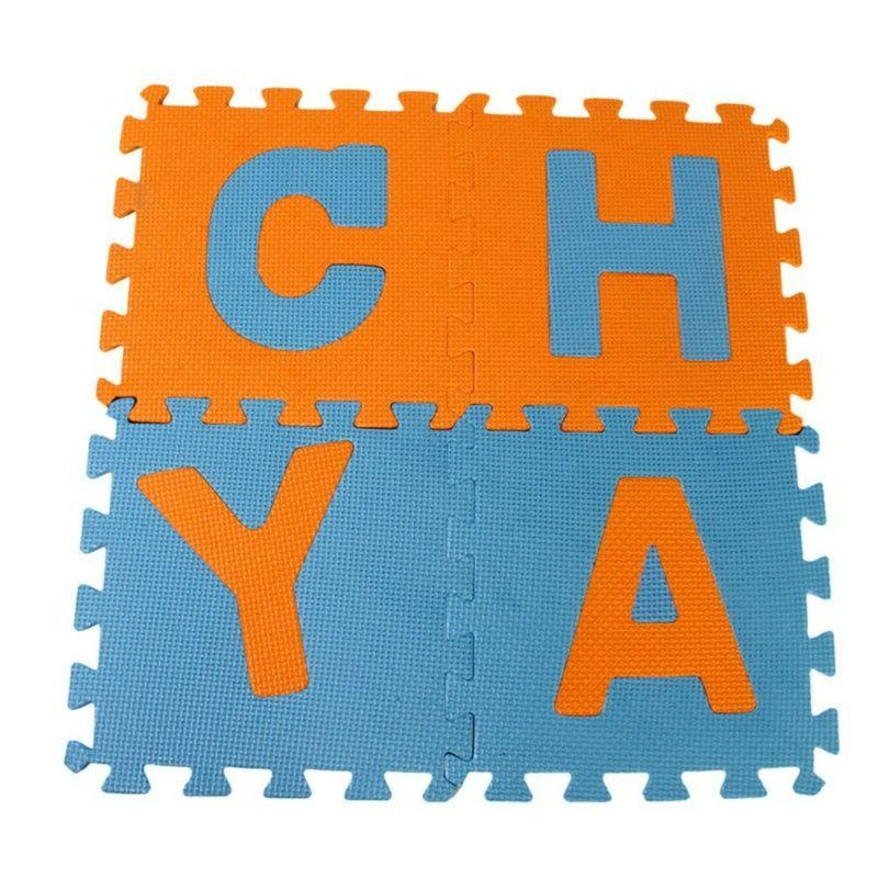 36Pcs Alphabet Numbers Floor Mat Room Puzzle