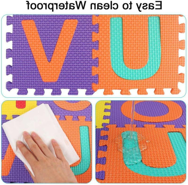 36pcs Alphabet Numbers Play Baby Home Room Foam Puzzle